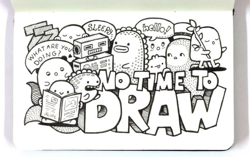 doodle indonesia
