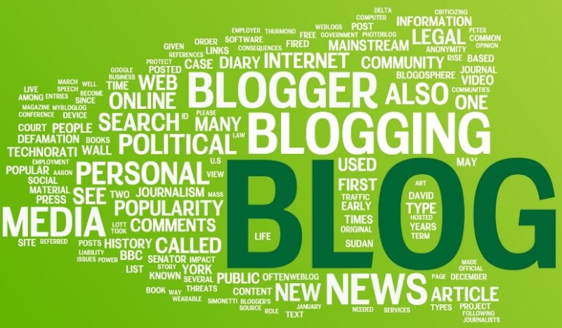 pengertian blog, blogger, blogging