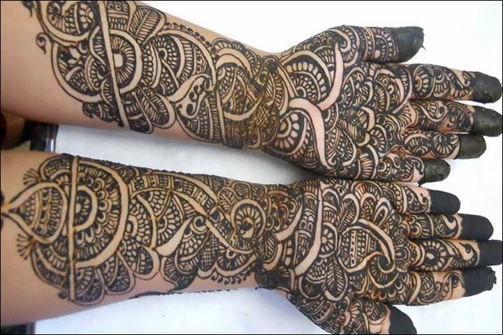 Hands and Arms Henna Art