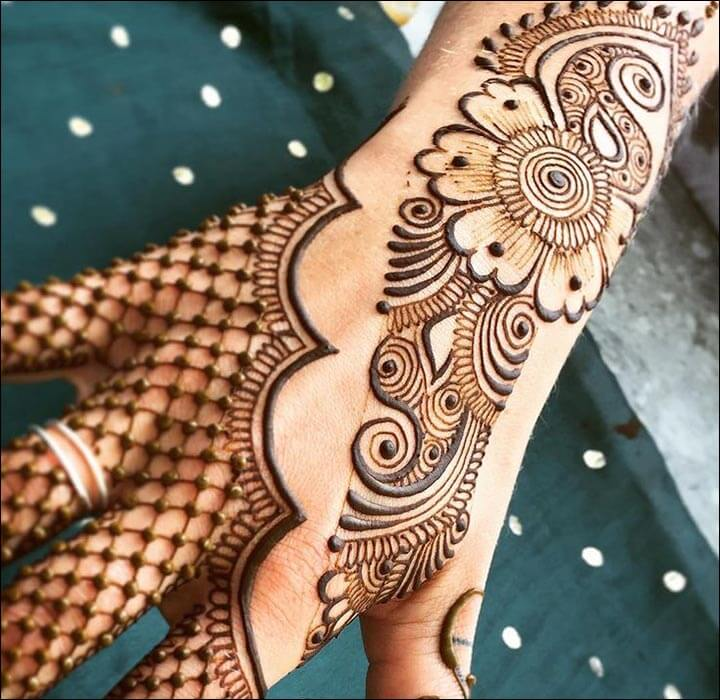 100 Gambar Henna Tangan Yang Cantik Dan Simple Beserta Cara