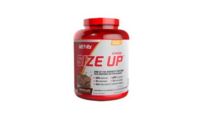 Met RX Xtreame Size up