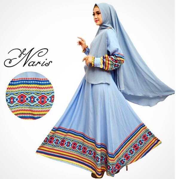 100 Model Baju Gamis Syar I Muslimah Terbaru 2018 Rejeki Nomplok