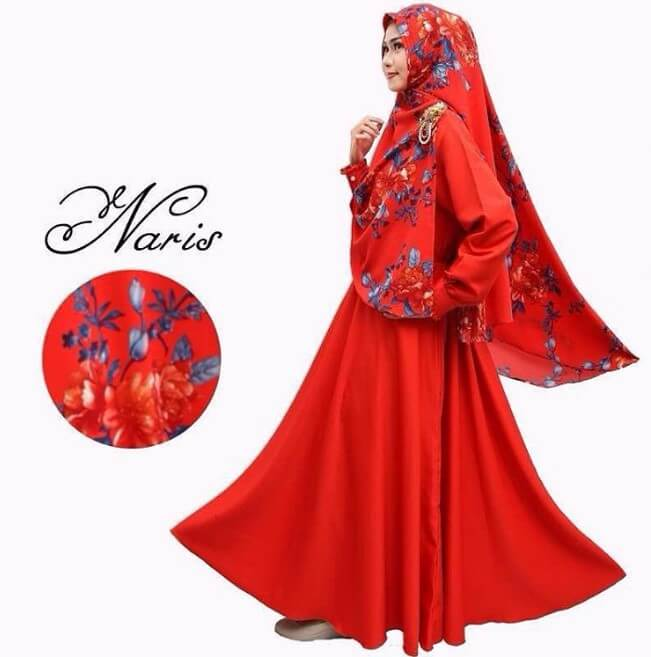 100 Model Baju Gamis Syar I Muslimah Terbaru 2019 Rejeki Nomplok