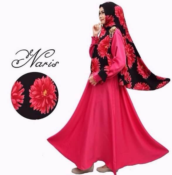 100 Model Baju Gamis Syar'i Muslimah Terbaru 2019 | Rejeki