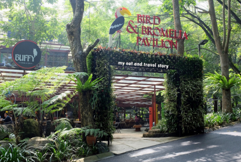 Bird and Bromelia Pavilion