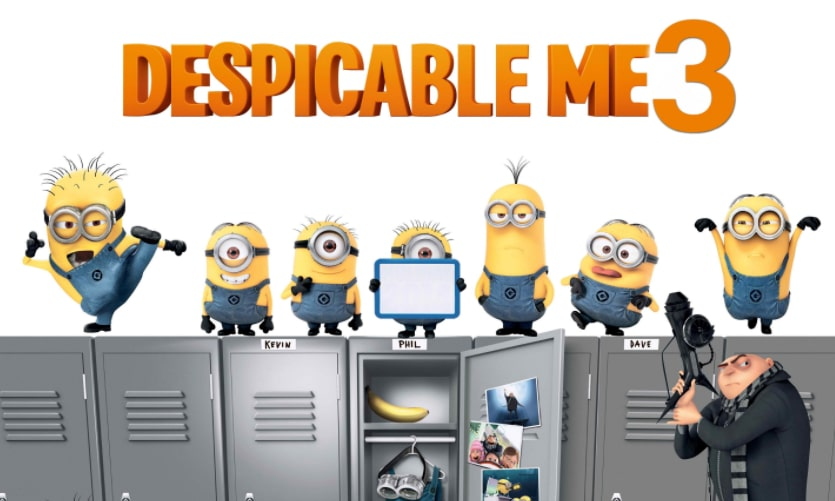 Film Kartun Lucu Despicable Me 3